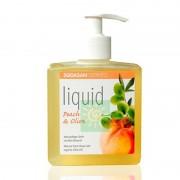 Жидкое мыло персик-олива, Sodasan, 300 мл