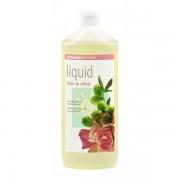 Жидкое мыло роза-олива, Sodasan, 1000 мл