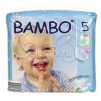 BAMBO детские Эко-подгузники Junior 12-25 кг №21 (21шт)