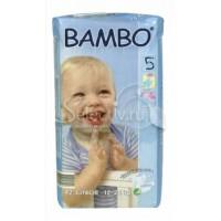 BAMBO детские Эко-подгузники Junior 12-25 кг №42 эконом упаковка (42шт)