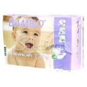 BAMBO детские Эко-подгузники для новорожденных 2-4 кг №28 (28шт)