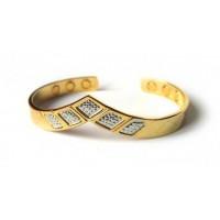 АНДАНТЕ Медный браслет (родий, позолота) 6 магнитов